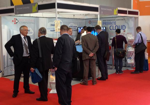caption|Busy as usual on the Traffex stand