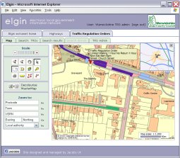 Buchann Computing links ParkMap to national highway information system