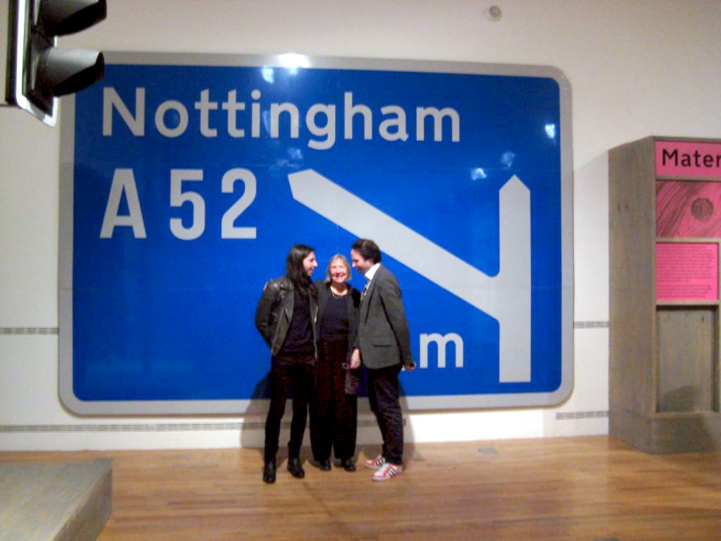 Signs created by Buchanan Computing software feature prominently in exhibition