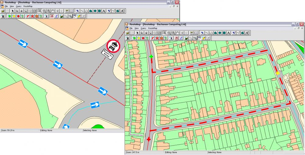 Buchanan Computing's RouteMap - a new product for bringing to life Ordnance Survey ITN road network information